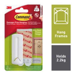 Command Picture Hanging Strip Wire Back 17041