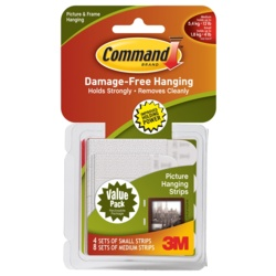 Command Picture Hanging Strips Small/Medium Value Pack 17203