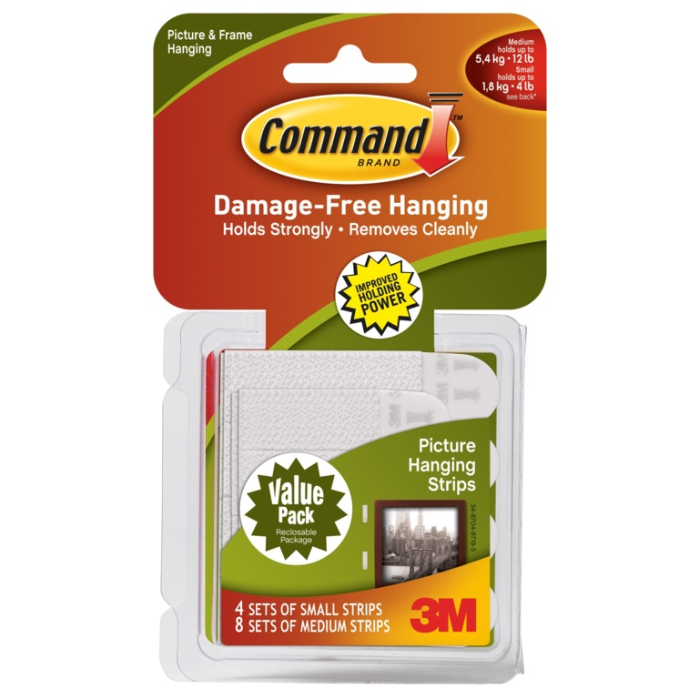 Command Picture Hanging Strips - Combi Pack