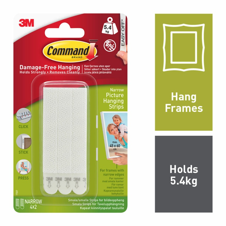 Command Narrow Picture Strips - 4 Sets