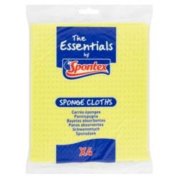 Spontex Essentials Sponge Cloths