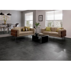 Karndean Cetona Black Vinyl Floor Tile 600 x 307