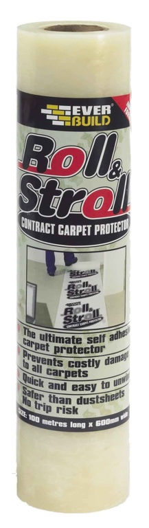 Everbuild Roll Stroll Contract Carpet - 100m