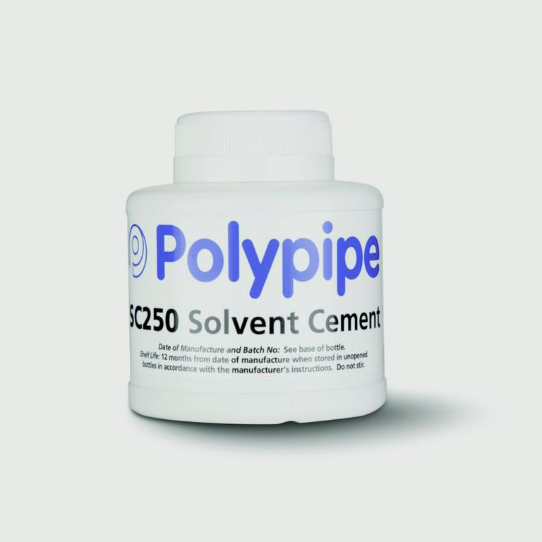 Polypipe Wet And Dry Solvent Cement - 240ml