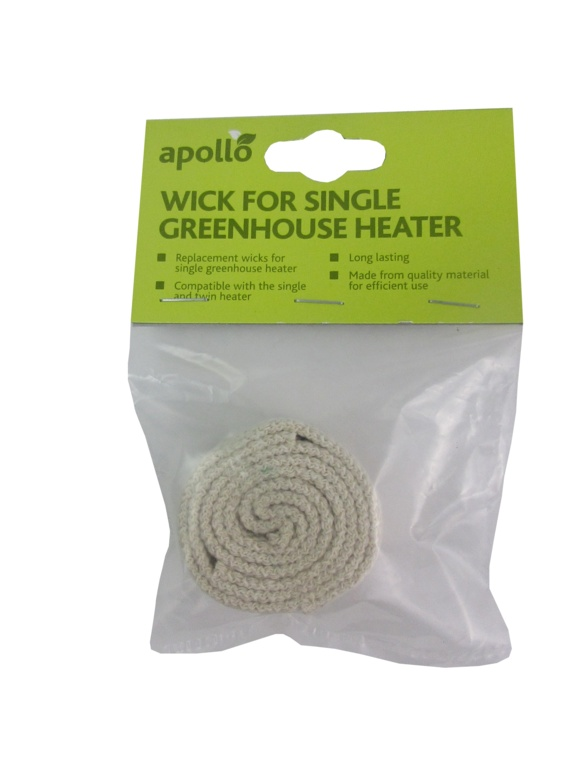 Apollo Wick For Single Greenhouse Heater - 2.5cm width