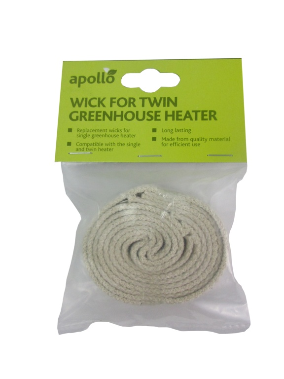 Apollo Wick For Twin Greenhouse Heater - 2.5cm width