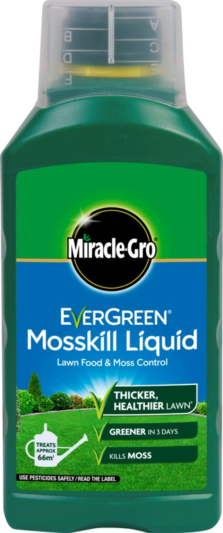 Miracle-Gro Evergreen Liquid Feed & Moss - 1L