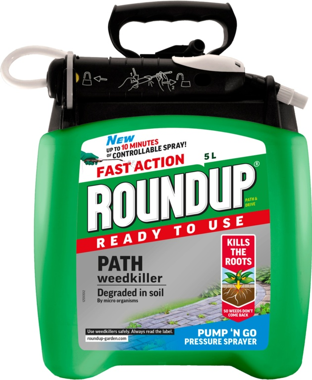 Roundup Path & Drive Pump N Go - 5L