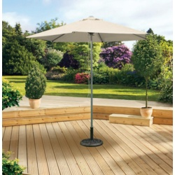 Pagoda Aluminium Push Up Parasol