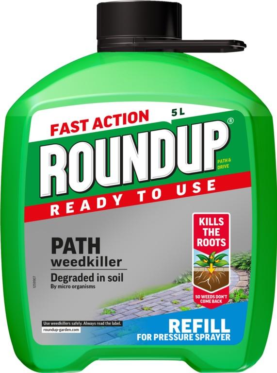 Roundup Path & Drive Refill - 5L