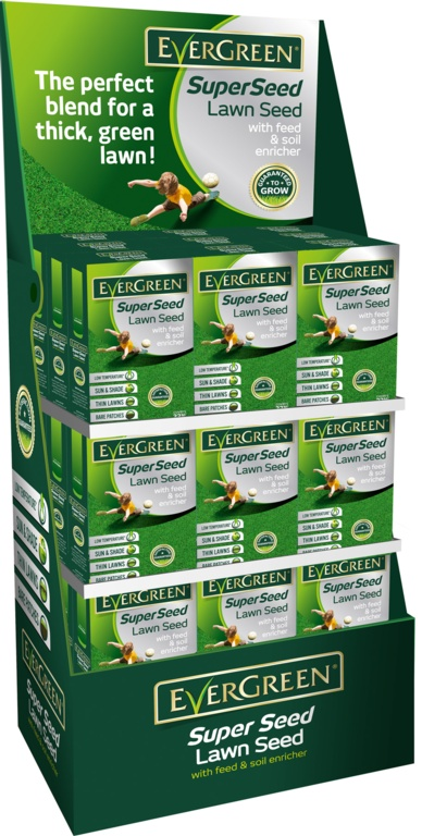 EverGreen Super Seed Display Unit - 1kg DU54