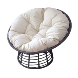 SupaGarden Swivel Rattan Chair