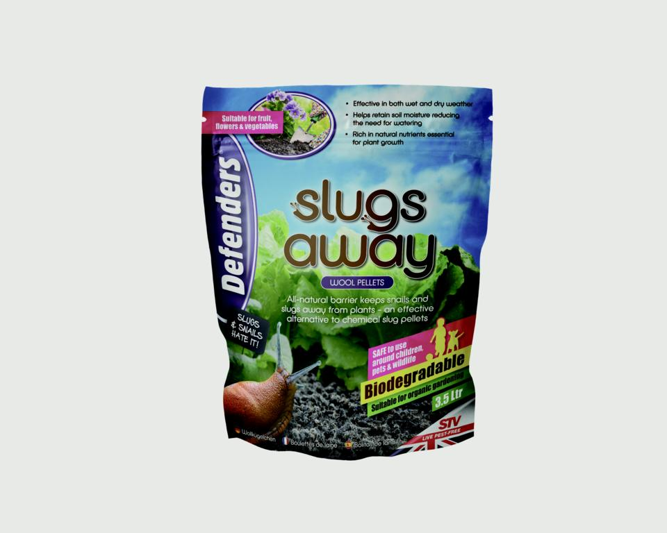 Defenders Slugs Away Wool Pellets - 3.5 L