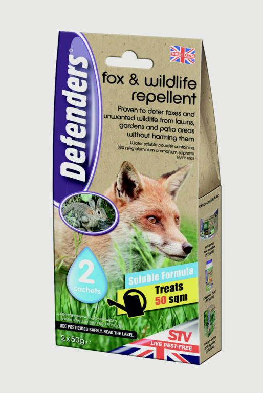 Defenders Fox & Wildlife Repellent - 2x50g Sachets