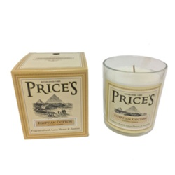 Price's Candles Heritage Jar - Egyptian Cotton