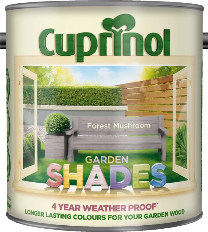 Cuprinol Garden Shades 2.5L - Forest Mushroom