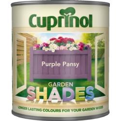 Cuprinol Garden Shades 1L Purple Pansy