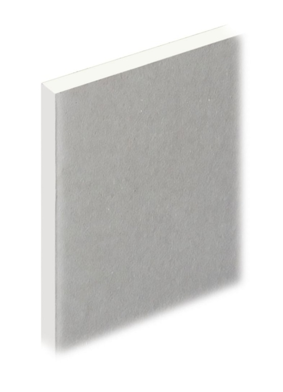 Knauf Plaster Wall Board Square Edge - 12.5mm x 2400 x 1200mm