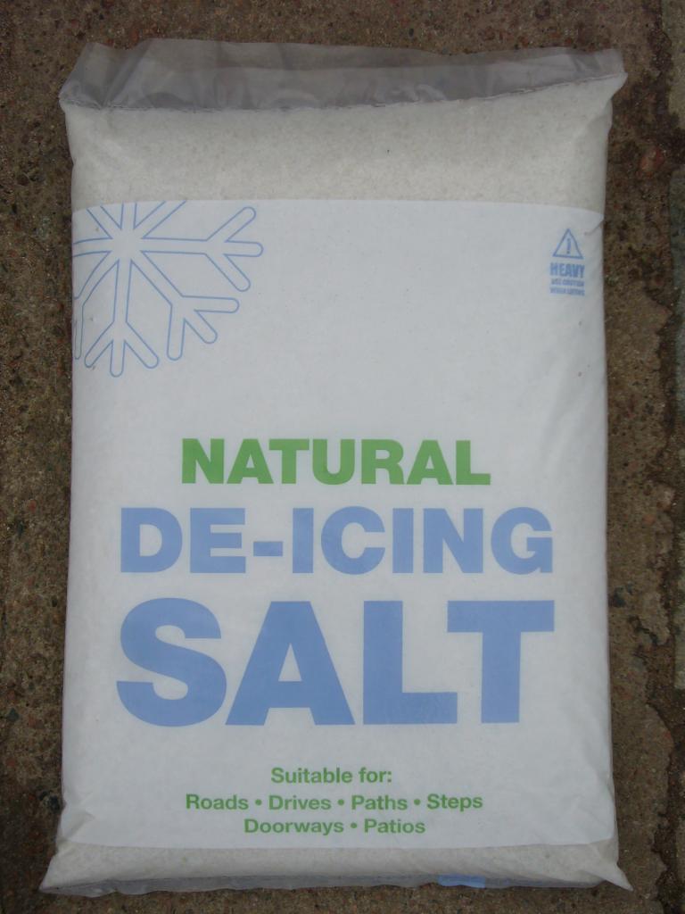 Salt Grit De-Icer Salt - 24kg