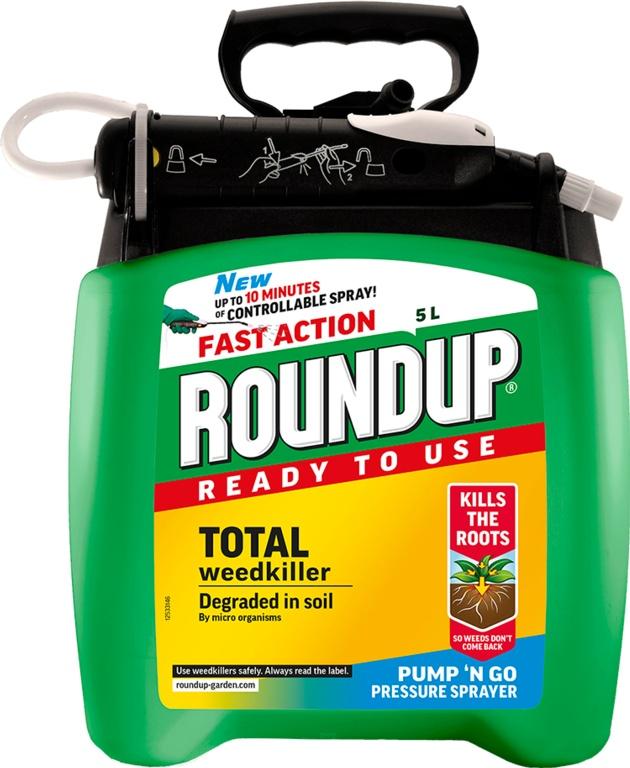 Roundup Fast Action Pump N Go - 5L RTU