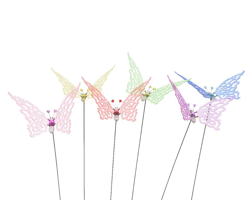 Kaemingk Butterfly On Pick - 19 x 16
