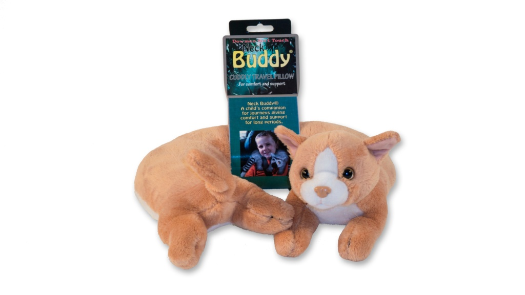 Eurax Neck Buddy - Ginger Cat