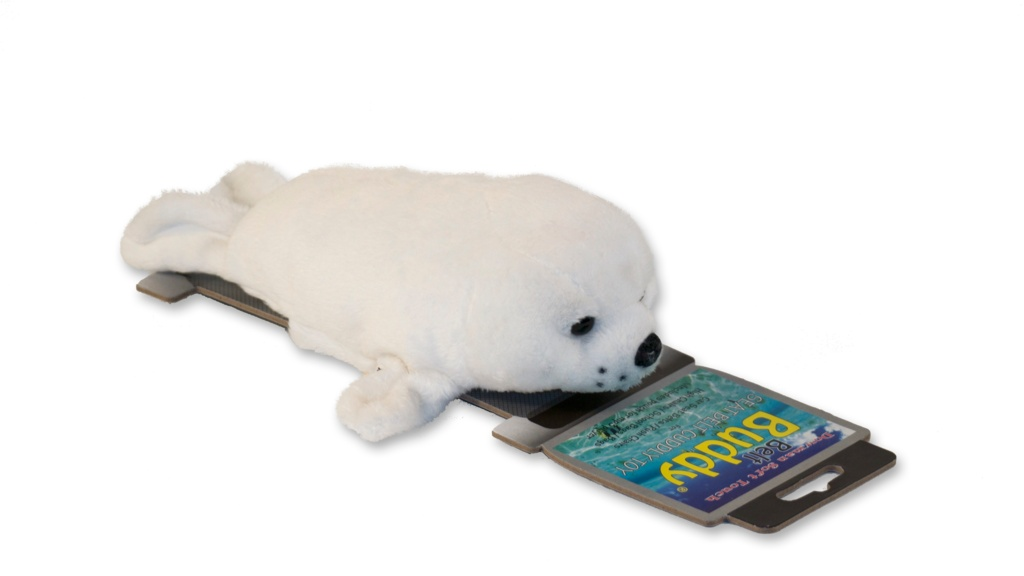 Eurax Belt Buddy - White Seal