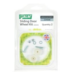 ALM Greenhouse Sliding Door Wheel Kit 22mm