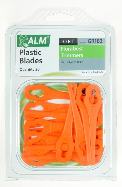 ALM Trimmer Plastic Blades