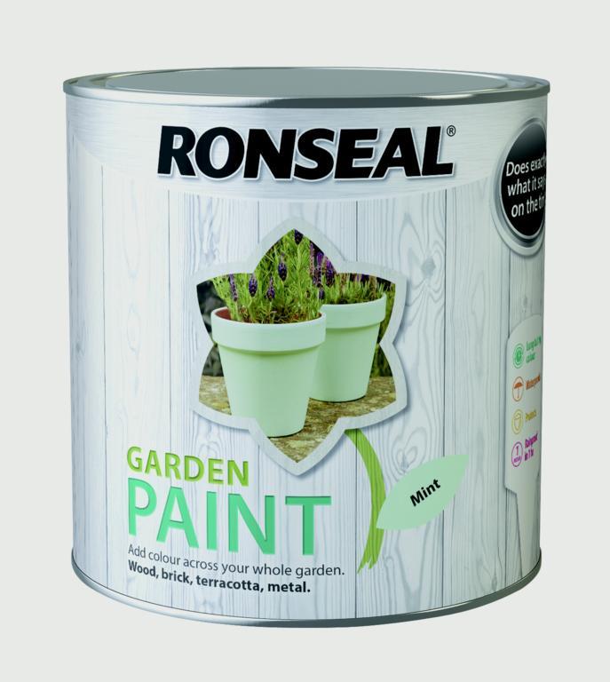 Ronseal Garden Paint 2.5L - Mint