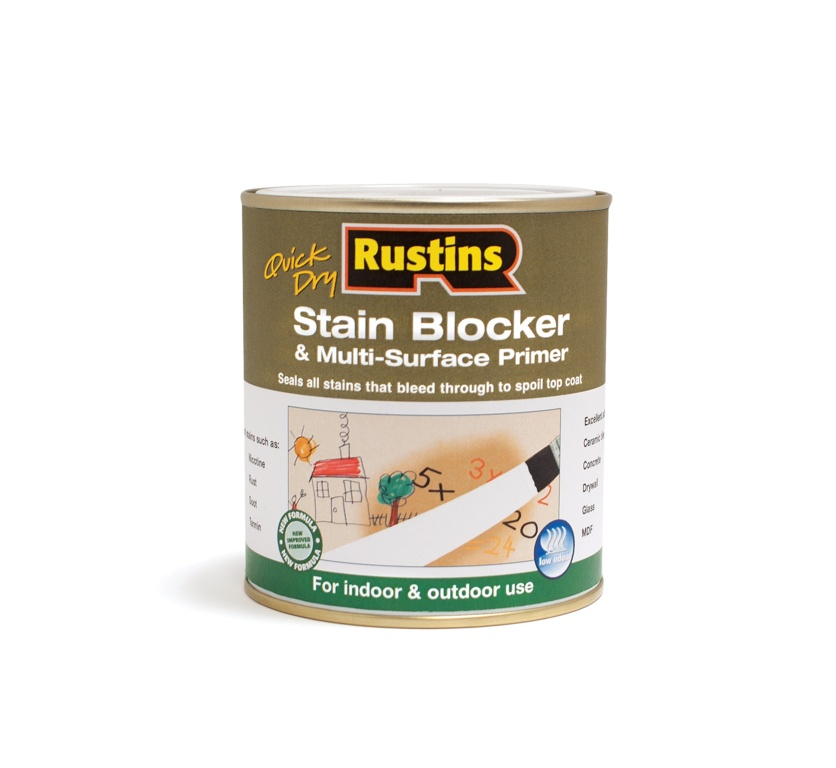 Rustins Stain Block Multi Purpose Primer - 250ml
