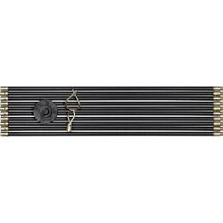 SupaTool Drain Rod Set with Durable Polybag - 12 Piece