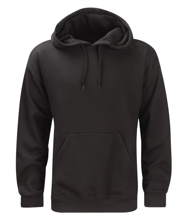 Orbit Taft 280gsm Black Hoodie - Medium