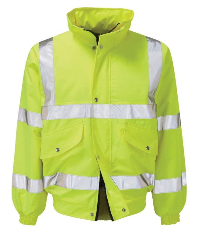 Orbit Valiant EN471 Hi Vis 3/4 Bomber Jacket - Large