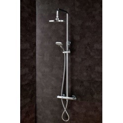 Cassellie Round Thermostatic Shower Set