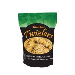 Homefire Twizlers Natural Firelighters - 300g