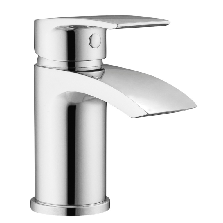 SP Aero Curve Basin Mixer Tap - H: 145mm D: 103mm