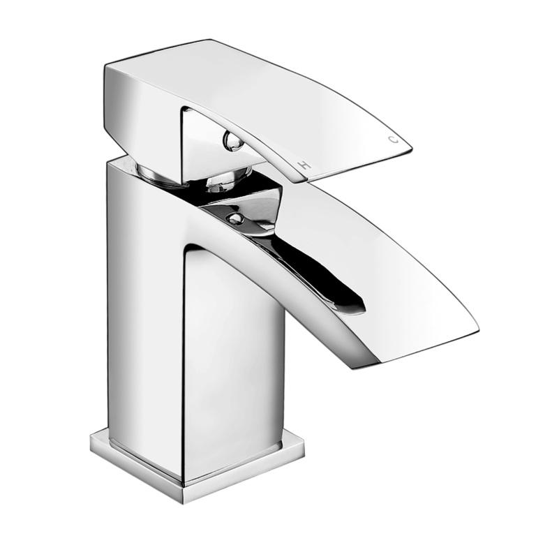 SP Aero Cloakroom Basin Mixer Tap - H: 130mm D: 102mm