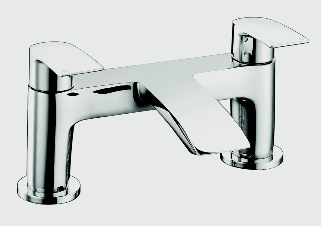 SP Aero Curve Bath Filler Tap - W: 180mm H: 123mm D: 105mm