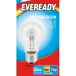 Eveready Eco GLS Clear E27 ES Boxed