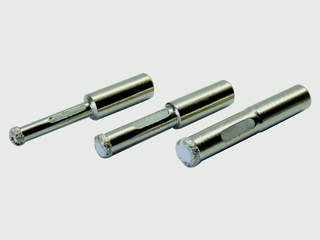 Vitrex Dry Cut Diamond Drill Bit Kit - 6, 8, 10mm