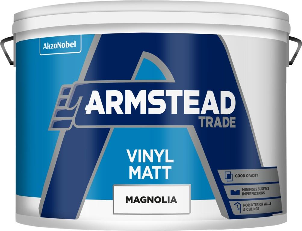 Armstead Trade Vinyl Matt 10L - Magnolia