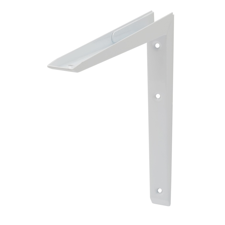 B!organised Mitred Bracket White - 25x25