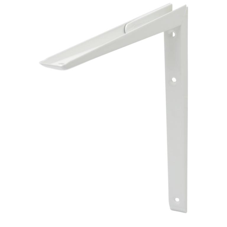 B!organised Mitred Bracket White - 30x30