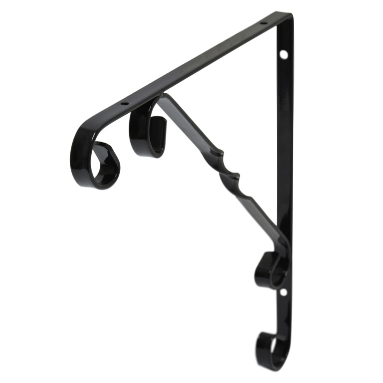 B!organised Ornamental Bracket Black - 25x25