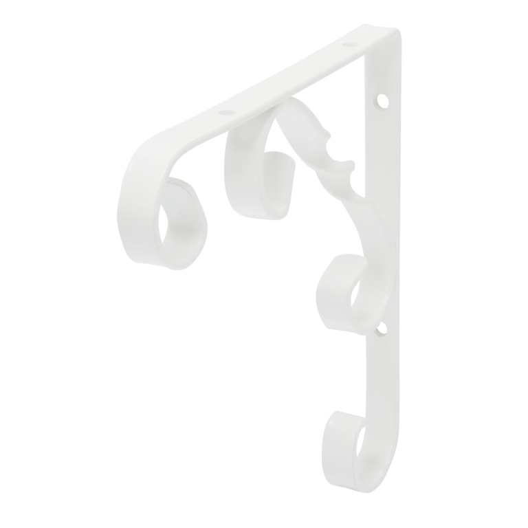 B!organised Ornamental Bracket White - 15x15