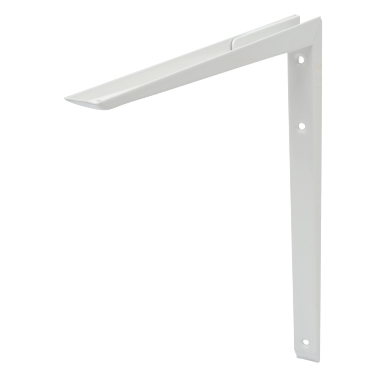 B!organised Mitred Bracket White - 35x35