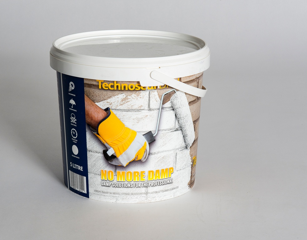 No More Damp Technoseal Damp Proofing Paint - 5L White