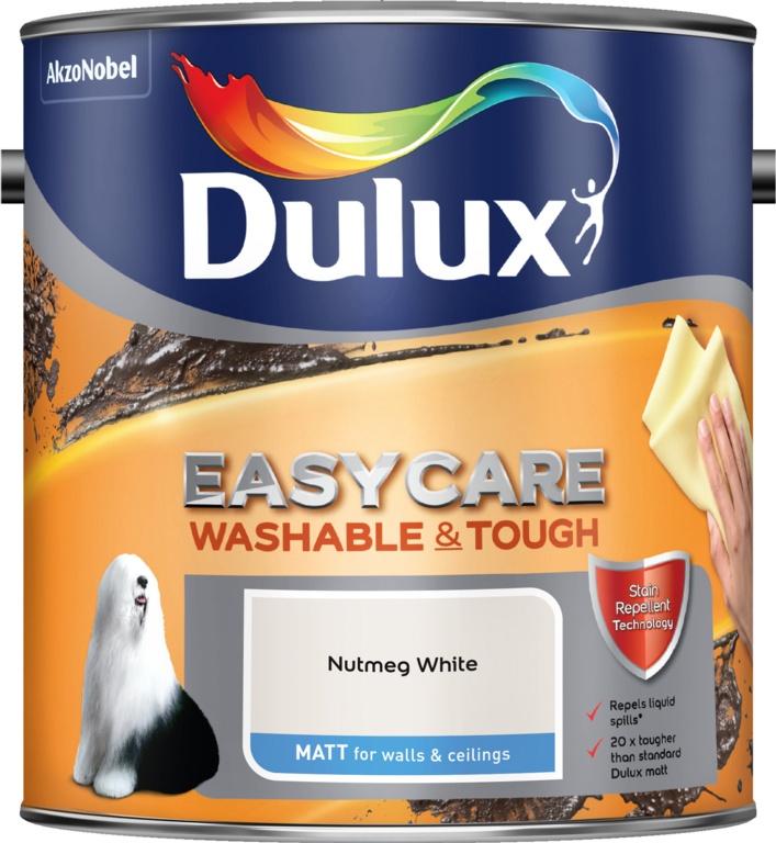 Dulux Easycare Matt 2.5L - Nutmeg White