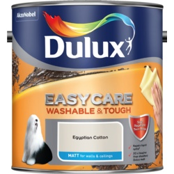 Dulux Easycare Matt 2.5L Egyptian Cotton